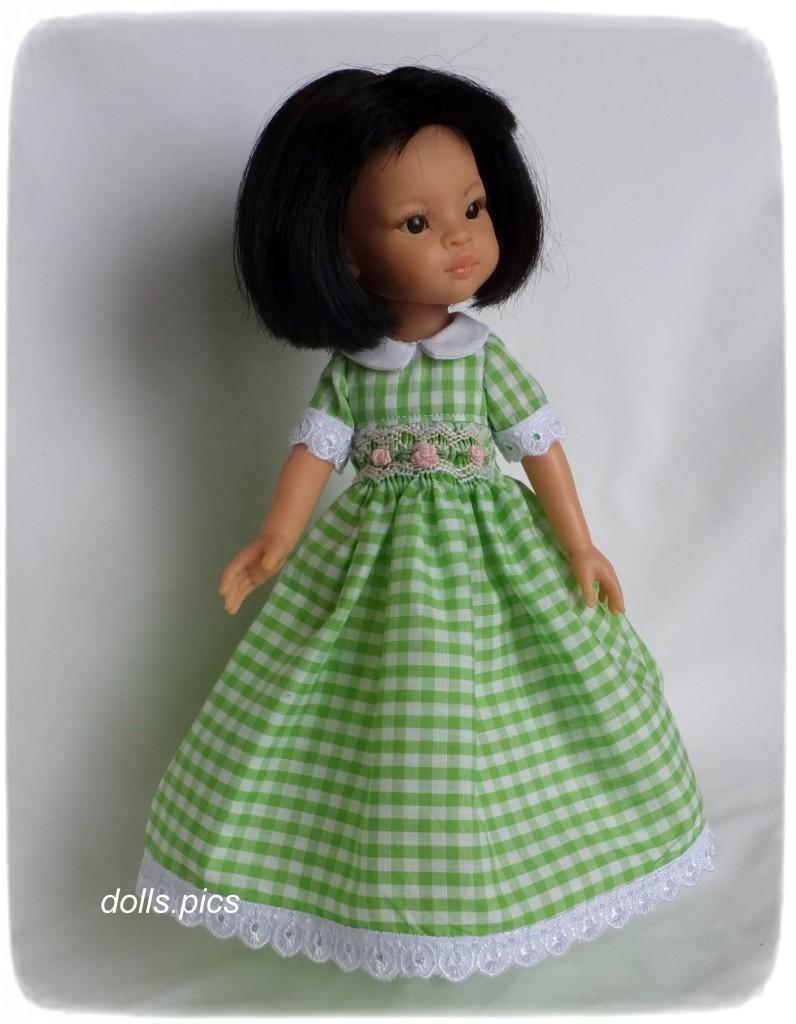 4395c4e4c4e Как да шият красива кукла рокля. Как да шият рокля за кукла със ...