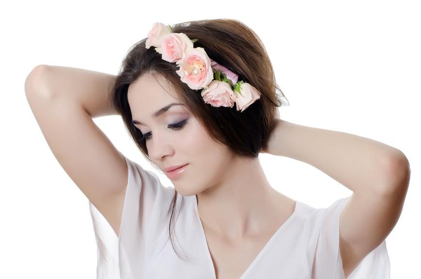 Untuk gaya rambut pernikahan apa pun dan untuk rambut pendek dan panjang 90f206ff26