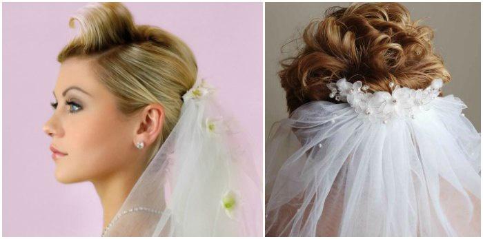 Coafuri De Coafura De Nunta Pentru Parul Scurt Rapid și Ușor